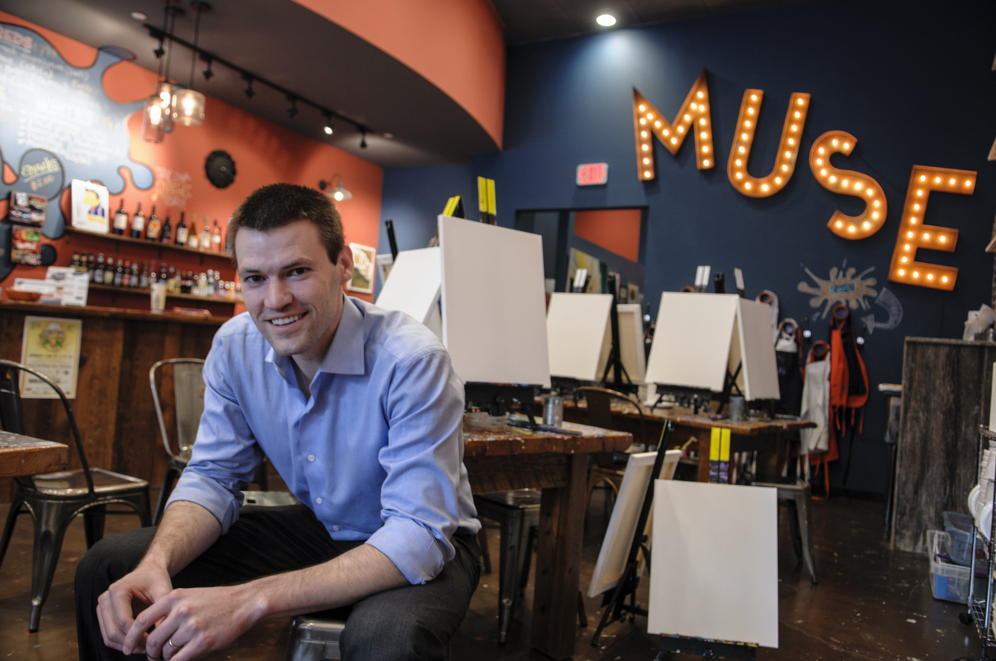 Newly Minted Mba Hopes Painting Parties Draw Profits
