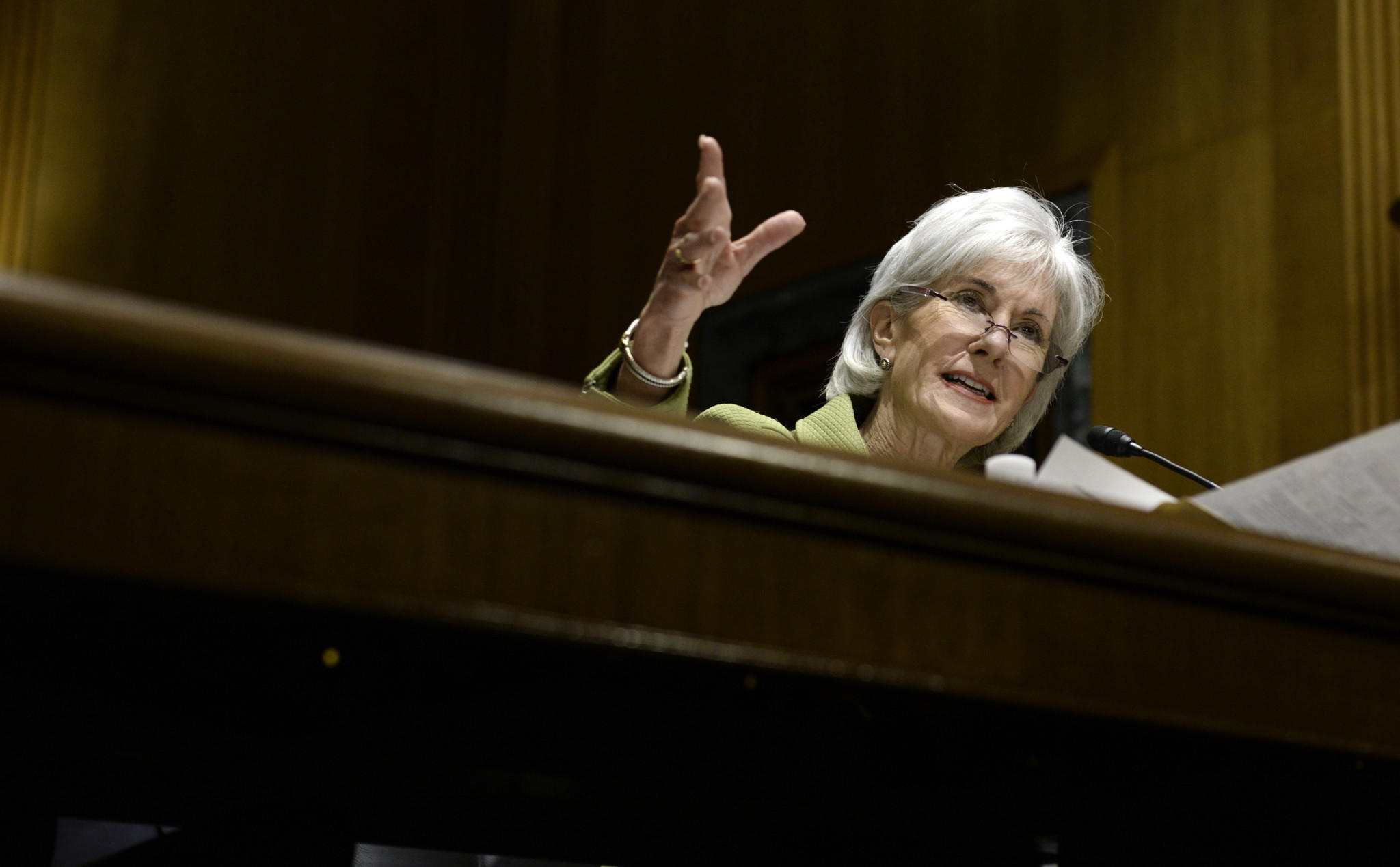 Health and Human Services Secretary Kathleen Sebelius told a Senate committee on April 10 that 7.5 million Americans have now signed up for health coverage under President Obama's healthcare law.