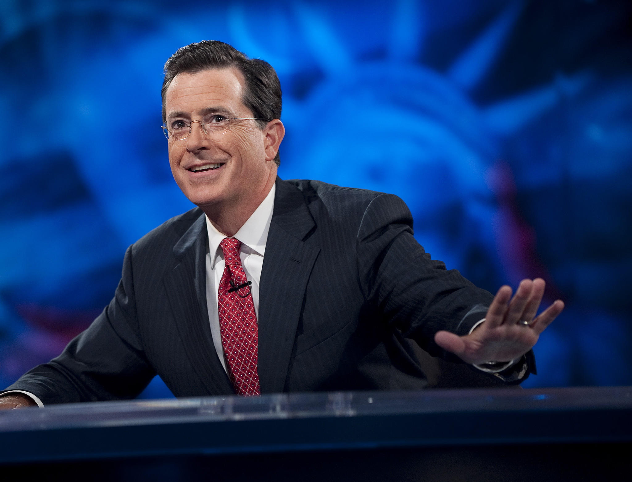 "Stephen Colbert of ""The Colbert Report"" will take over as host of CBS' ""The Late Show."""