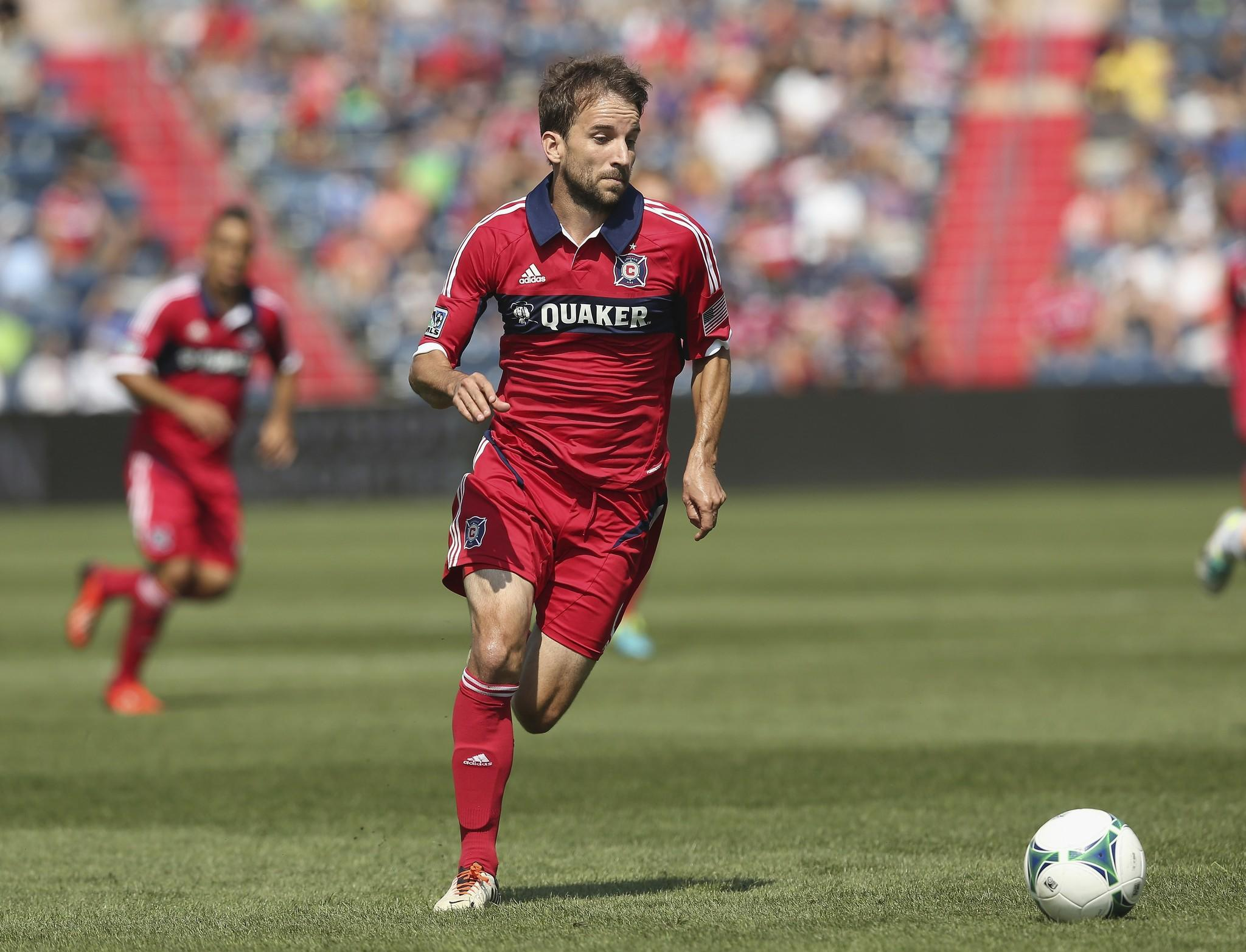Mike Magee received a big salary boost from the Chicago Fire.