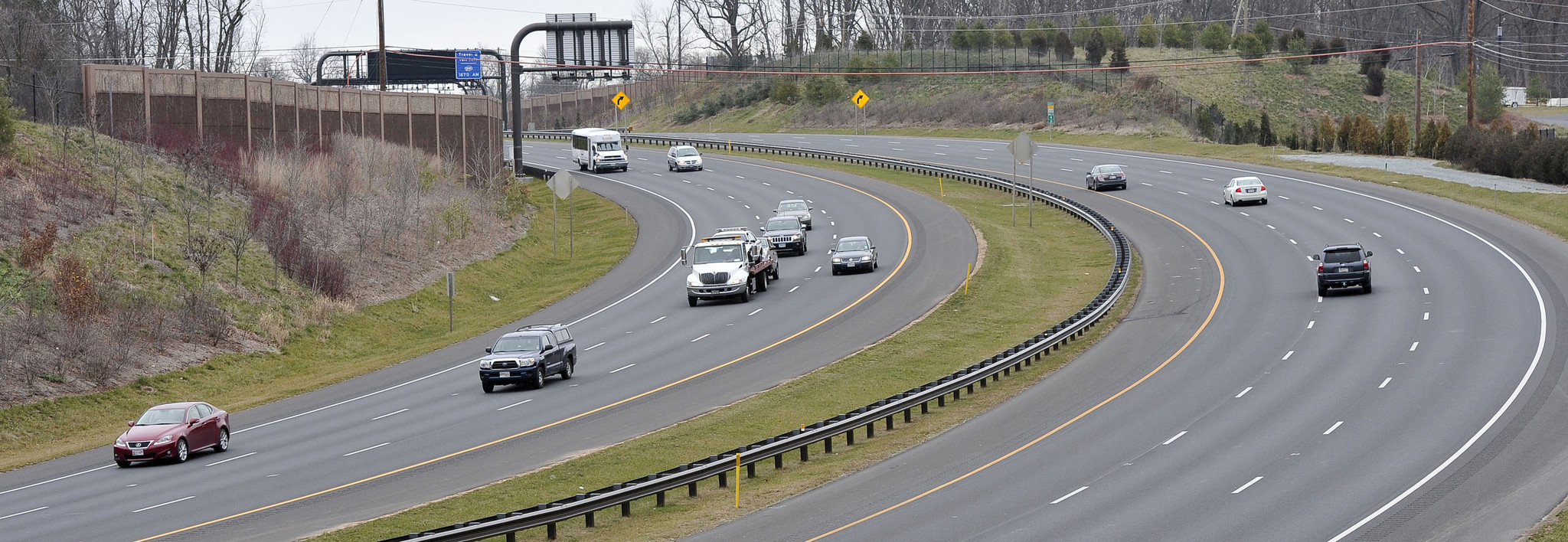 Icc extension to route 1 delayed by harsh winter laurel for Route 1 motors inc laurel md