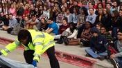 Video: Matea HS students shown reality of drunk driving