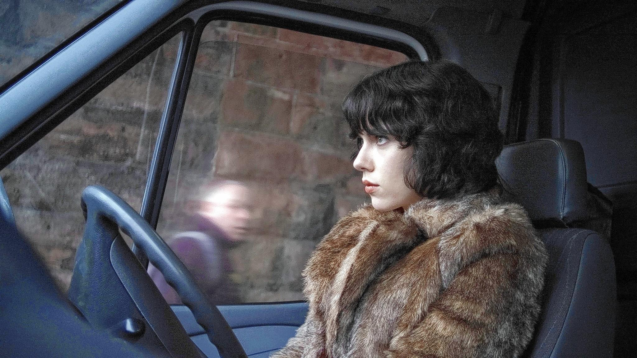 "Scarlett Johansson stars in ""Under the Skin."""