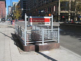 The Harrison Red Line stop will undergo rehabilitation this spring.