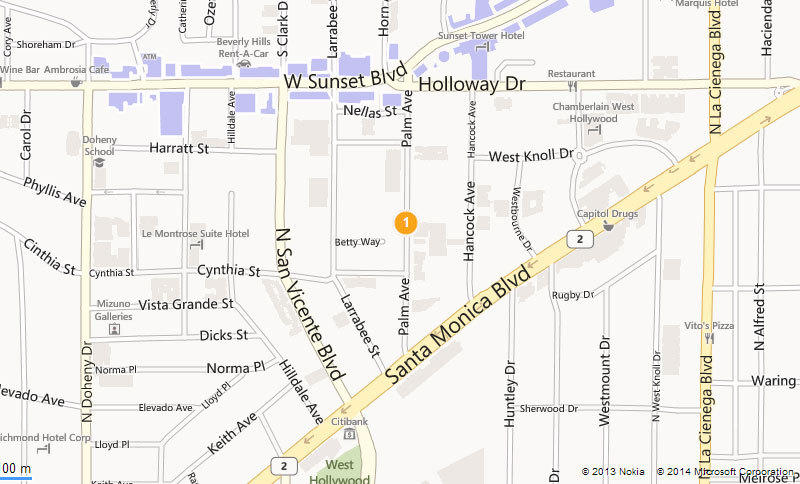 The approximate location where a man was shot and killed by Los Angeles County sheriff's deputies is shown.