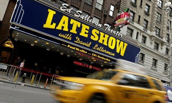 "The Ed Sullivan Theater in New York is the current home for ""The Late Show."""