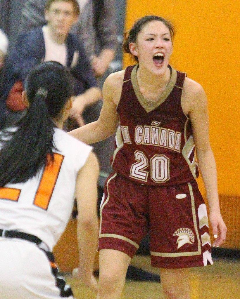 La Cañada High's is the All-Area Girls' Basketball Player of the Year for a second straight season. (Tim Berger/File Photo)