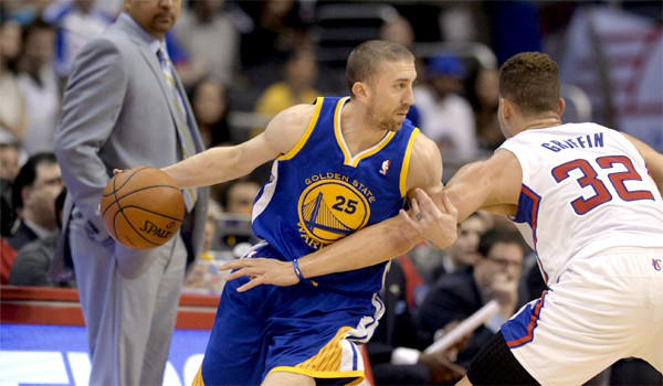Former Lakers guard Steve Blake, now with the Golden State Warriors, will face his former team for the first time at Staples Center on Friday.