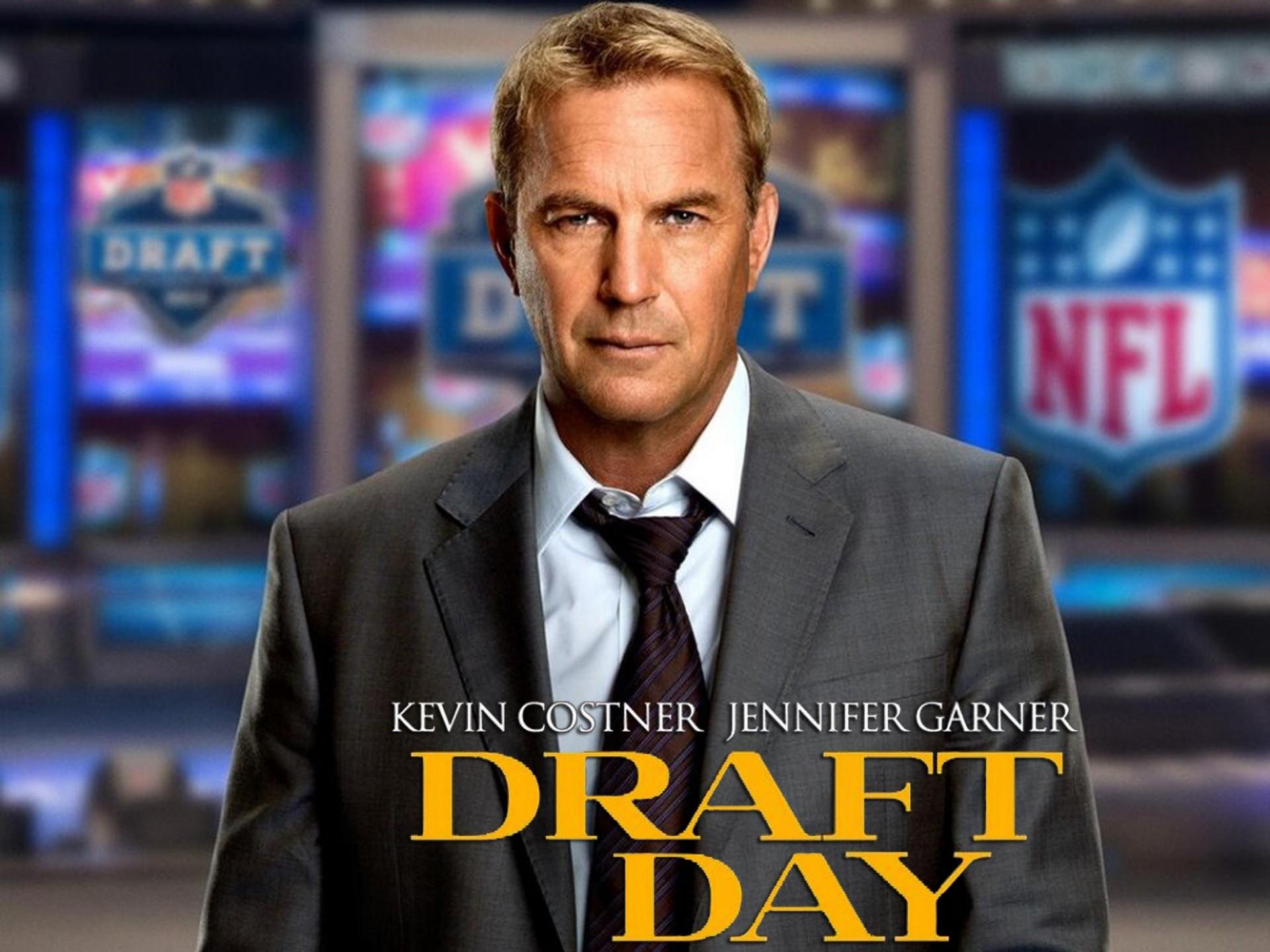 "Kevin Costner in NFL tale ""Draft Day."""