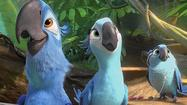 Review: Amid 'Rio 2's' cacophony, the musical numbers shine