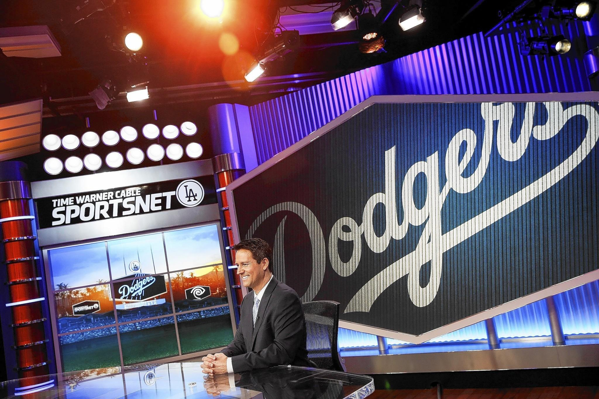 John Hartung will be the main studio anchor for SportsNet LA. A Time Warner Cable official said DirecTV and other pay-TV companies will eventually cut deals to provide the Dodgers channel to all subscribers.