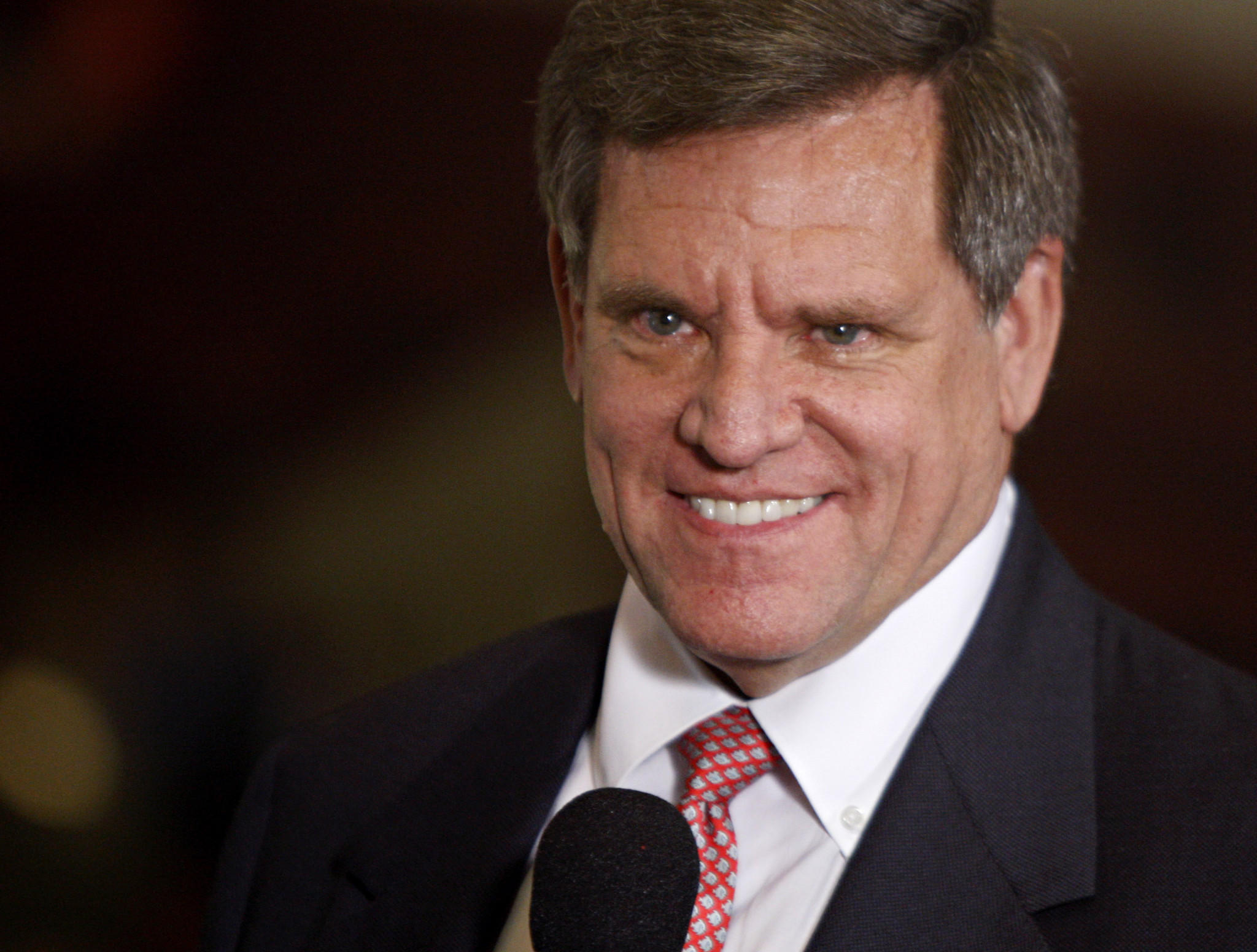 Chicago Blackhawks owner Rocky Wirtz had reasons to smile during the 2010 Stanley Cup Finals.