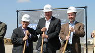 Officials Break Ground on New Data Center Development