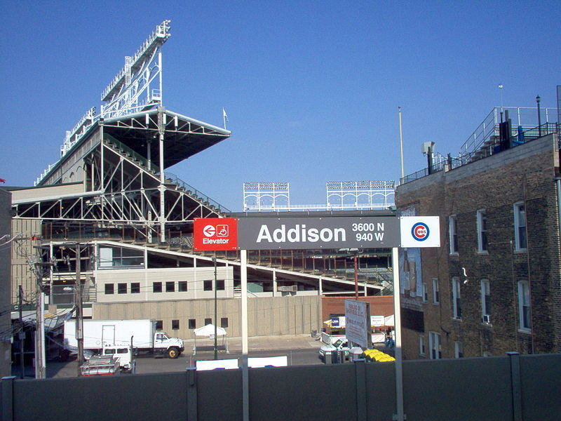 Northbound trains won't be stopping at the Addison Red Line station for portions of Saturday and Sunday.
