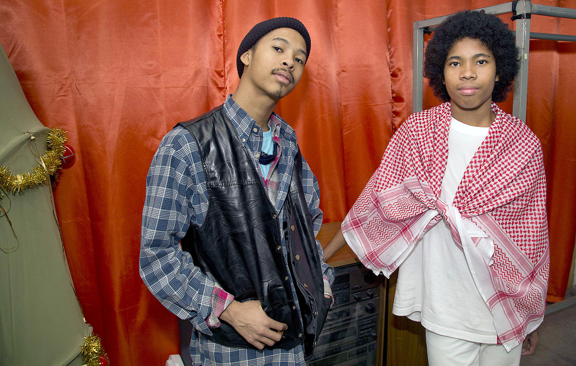 Brothers Mikaiah and Anaiah Lei of the Bots grew up in Glendale and are playing at the Coachella Music and Arts Festival starting this weekend.