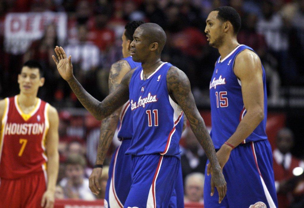 Jamal Crawford (11) is averaging 18.6 points this season but admits that the time he has missed because of a calf injury might have made him rusty.