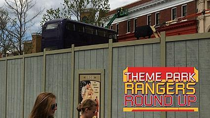 Theme parks: Knight Bus arrives at Diagon Alley