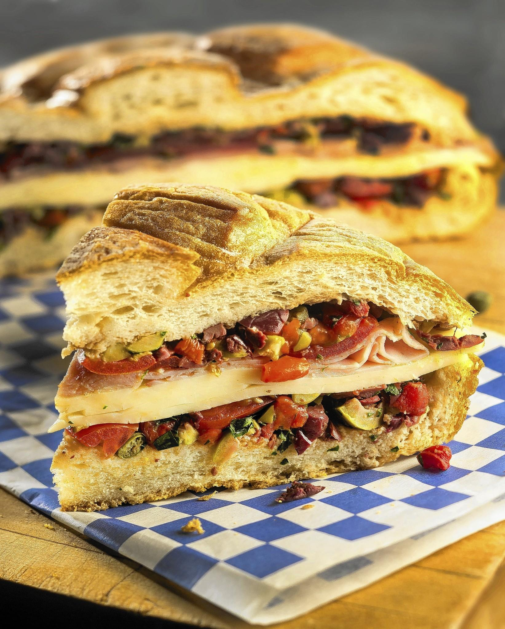 ... the range: Muffuletta recipe: Engineering a sandwich - Chicago Tribune