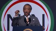 Sharpton introduces Obama as the 'action president'