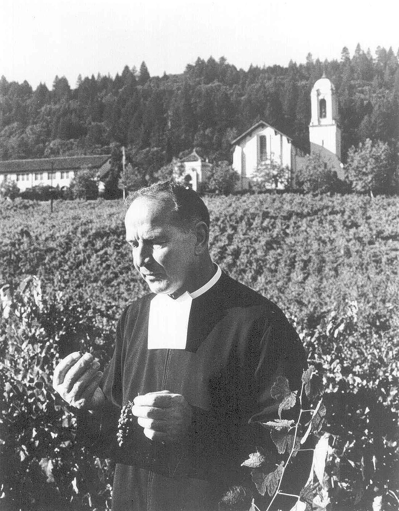 Brother Timothy Diener was a high school teacher who ushered Napa Valley onto the world wine stage.