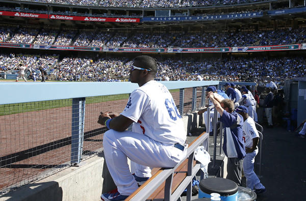 Yasiel Puig and his teammates will leave the friendly confines of Dodger Stadium for a trip to Arizona and the Bay Area to play division rivals.