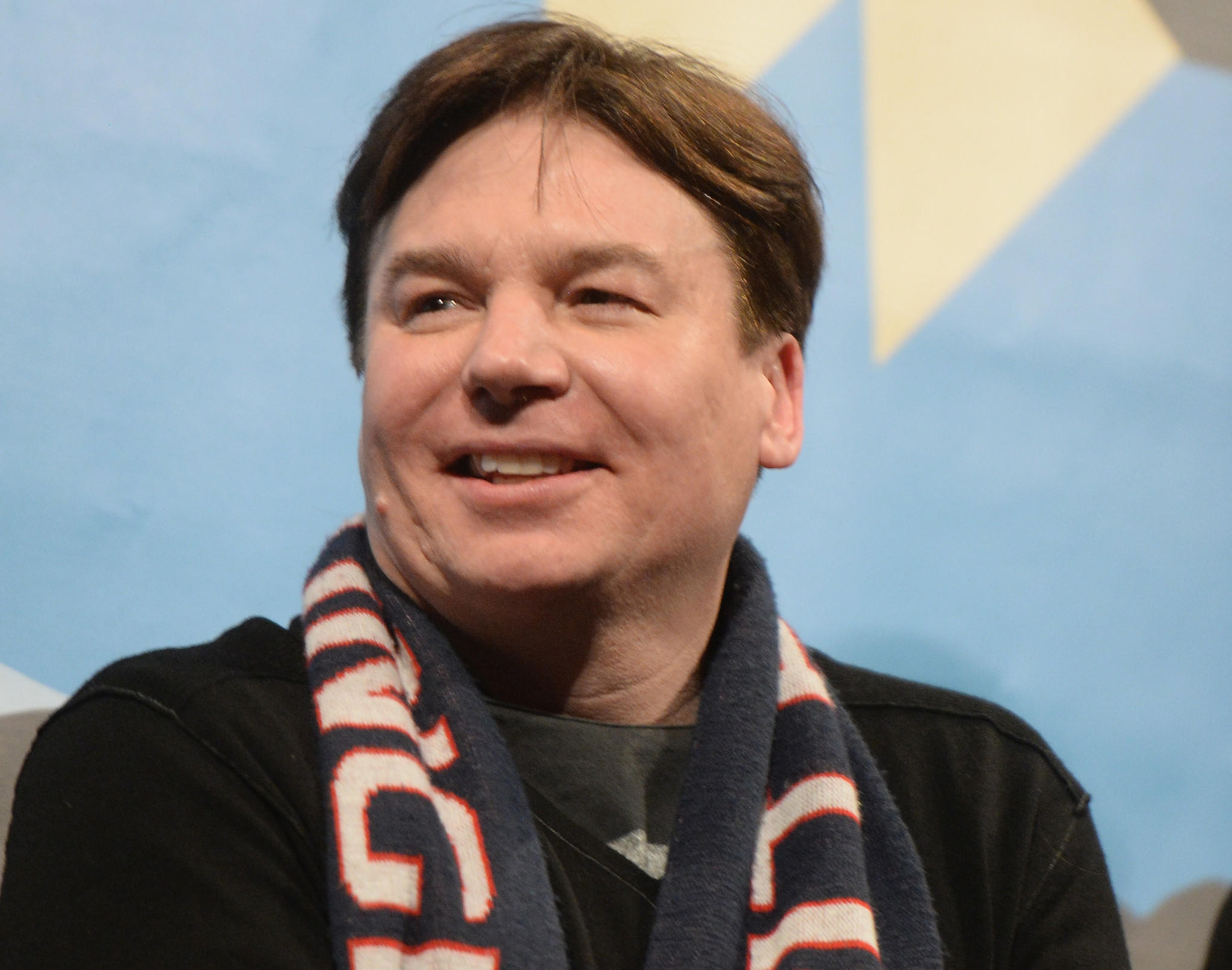 Mike Myers welcomes his second child, a baby girl.