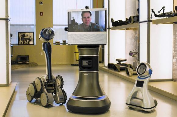 Telepresence robots