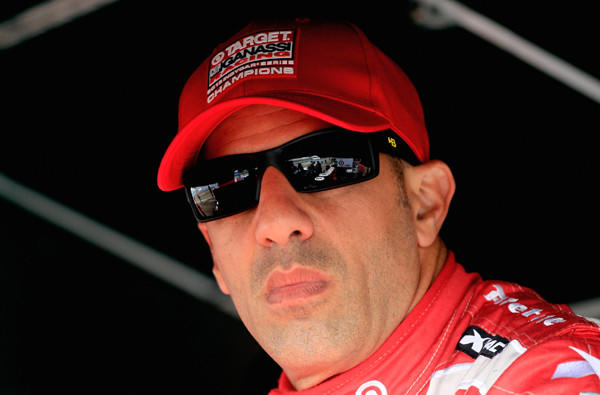 IndyCar driver Tony Kanaan waits for a practice to begin last week at the season-opening race in St. Petersburg, Fla.