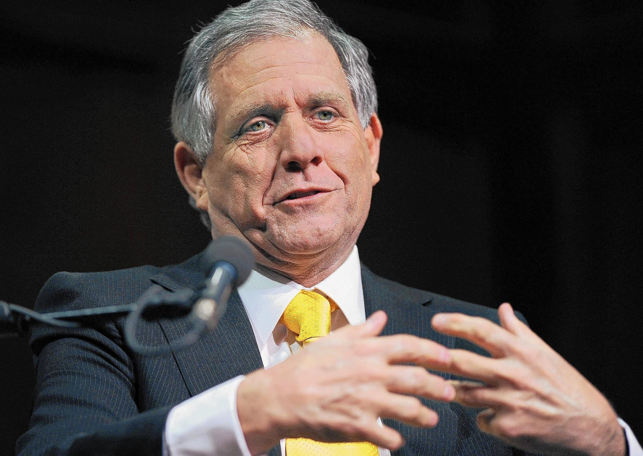 CBS Chief Executive Leslie Moonves is the highest-paid CEO in the media industry.