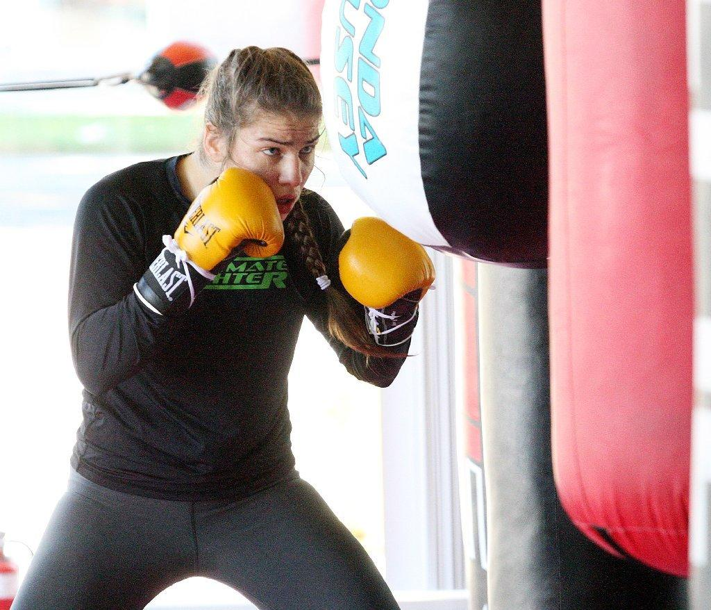 Marina Shafir will make her professional mixed martial arts debut on Saturday.