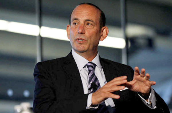 Don Garber took over as MLS commissioner in 1999.