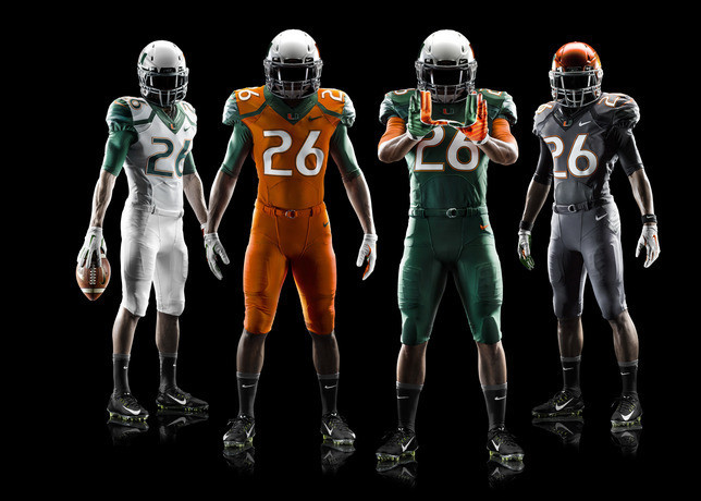 Miami Hurricanes Apparel Miami Hurricanes Unveil New