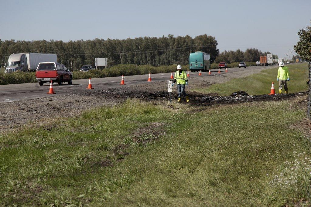 Traffic is back to normal along the northbound lanes of Interstate 5, where 10 people were killed in a crash Thursday.