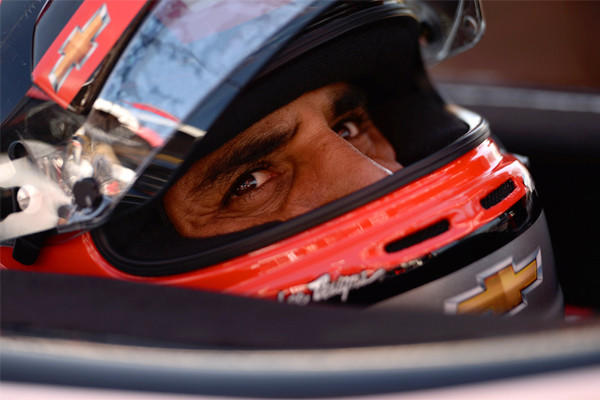 Juan Pablo Montoya, shown during practice for the Grand Prix of Long Beach, is participating in Sunday's event for the first time in 14 years.