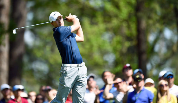 Jordan Spieth, 20, shot a two-under-par 70 Saturday to tie Bubba Watson for the lead entering Sunday's final day of the Masters.