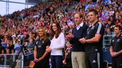 Royals attend junior rugby match in New Zealand