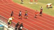 <b>Video:</b> Brandon Reddick wins 100 meters at Brian Jaeger