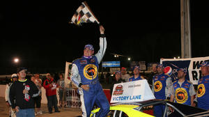 Brunnhoelzl uses fast late restart to beat Seuss in NASCAR Southern Modified race at Langley