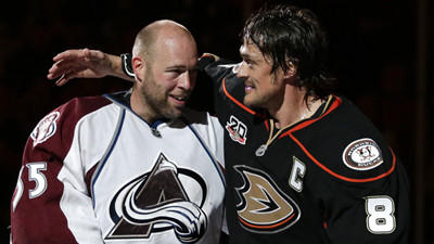 A Pair Of Legends Celebrate Together In Ducks' 3-2 Win