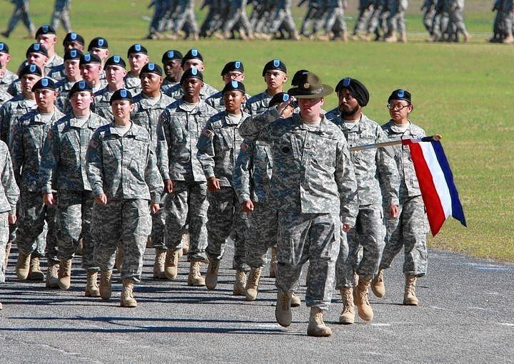 Of the more than 500,000 active-duty troops in the U.S. Army, only two are Sikhs. Above, Cpl. Simran Preet Singh Lamba at his graduation from basic training in November 2010 at Ft. Jackson, S.C.