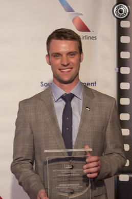 Actor Jesse Spencer is honored at the Chicago International Film Festival's Televis