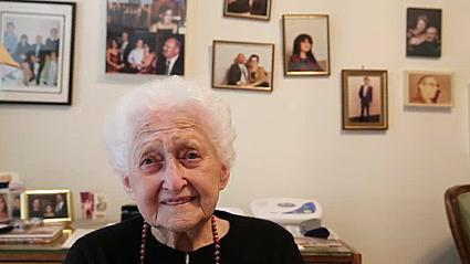 Video: Intern hears stories from Holocaust survivors