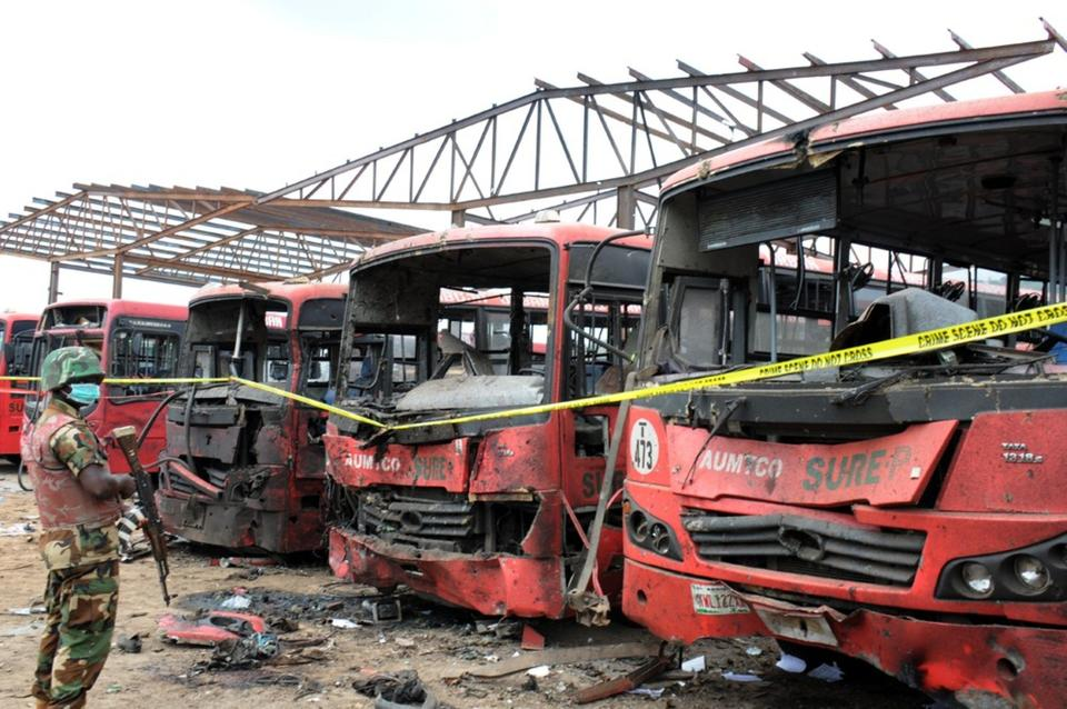 Nigeria bus station bombing kills 71; Boko Haram blamed