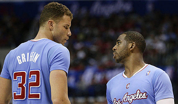 Blake Griffin, left, and Chris Paul are the two most likely Clippers players to get a rest before the playoffs.