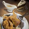 Fried chicken supper at Shoo-Fly Diner