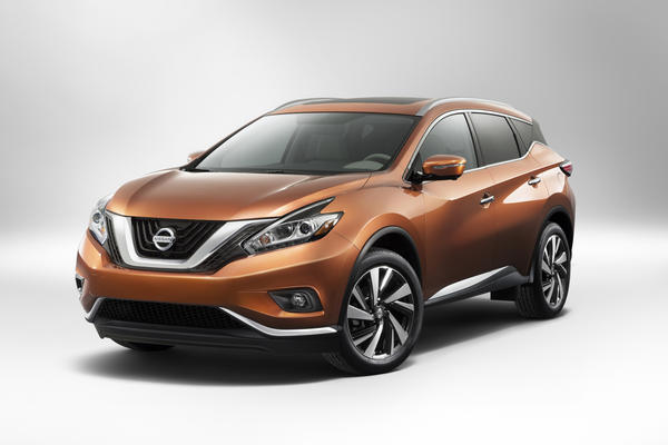 The 2015 Nissan Murano will be unveiled at the 2014 New York Auto Show this week and will go on sale at the end of 2014. It's the third generation of the funky-looking crossover, and the latest version brings new efficiency and refinement to the model.