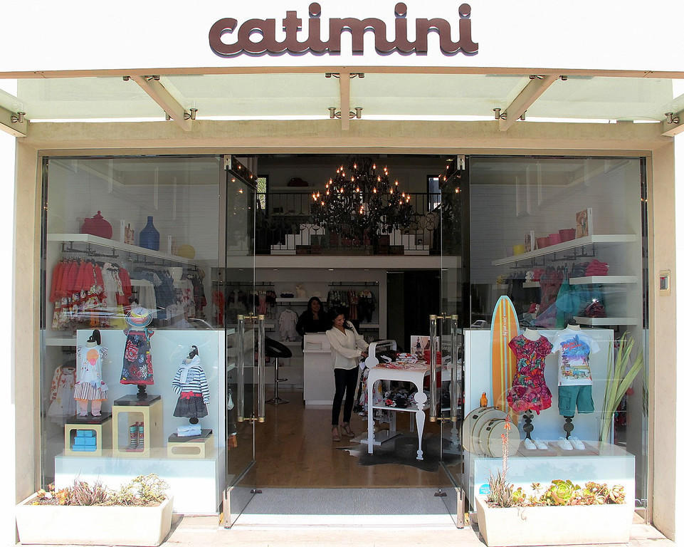 The new Catimini boutique features clothing for boys and girls.