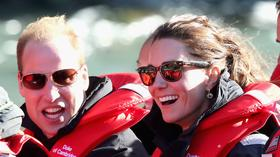 New Zealand: Prince William and Kate go for white-water thrill ride
