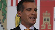 A practical Eric Garcetti takes a modest swipe at L.A.'s business tax