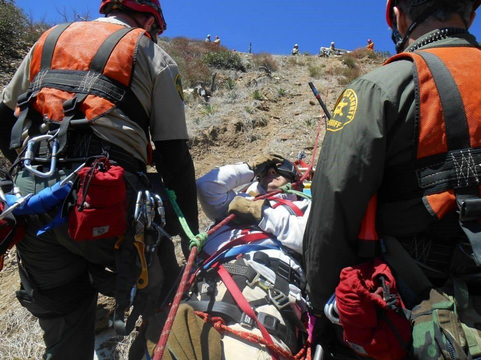 Montrose Search and Rescue Team responded to or assisted in nine search calls, largely for hikers gone missing or who were overdue. Members also performed five rescue missions, including saving an injured mountain biker, a cliffhanger and a horseback rider who'd gone off the side of the road.
